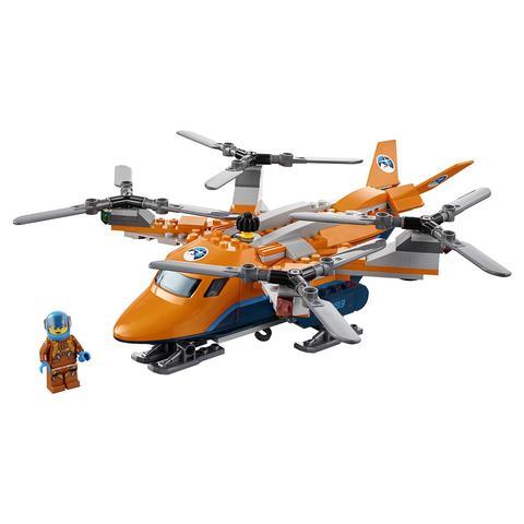 LEGO City: Арктическая экспедиция: Арктический вертолёт 60193 — Arctic Air Transport — Лего Сити Город