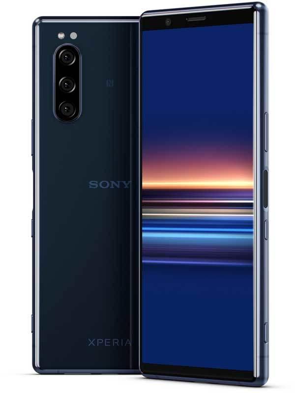 Смартфон Xperia 5 синего цвета купить в Sony Centre Воронеж
