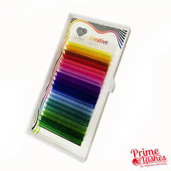 Ресницы Lovely разноцветные,20 линий