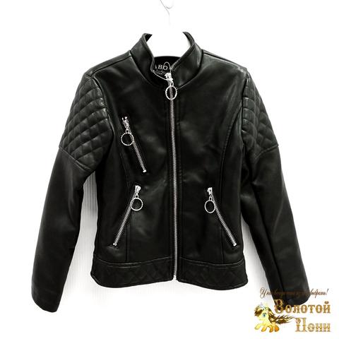 Куртка экокожа девочке (5-10) 200318-W1907.3