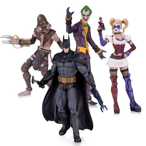 Бэтмен: Лечебница Аркхэм: Джокер, Харли Квин, Бэтмен и Пугало