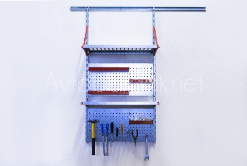Гаражные стеллажи: для инструмента 620х1200 мм