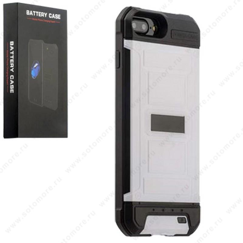 Аккумулятор чехол для Apple iPhone 8/ 7 3000 мАч 1.0A D711 белый