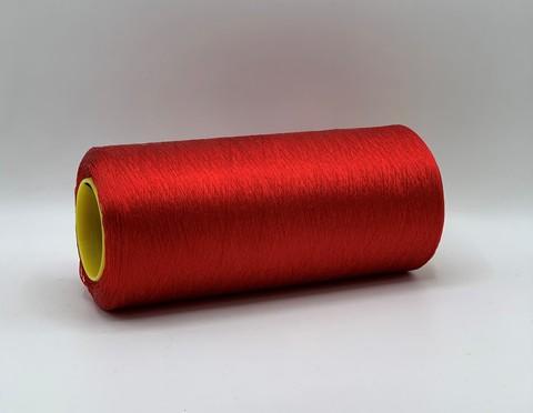 Бобинная пряжа Trama (пр.Италия), 3.000м/100гр.100%Шелк , цвет-Ярко красный, арт.7543