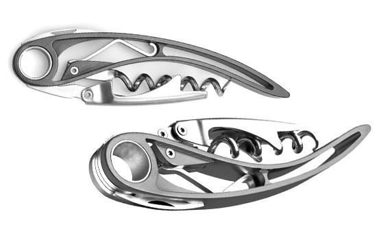 Нож сомелье Farfalli модель T012.01 Aria Bright штопор с воротом farfalli модель o210 dg 3 doge