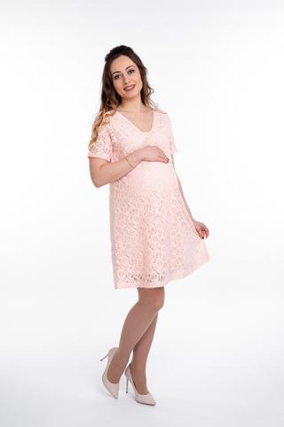 Платье для беременных 10077 пудра
