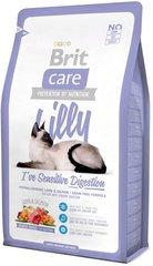 Беззерновой корм для кошек, Brit Care Cat Lilly Sensitive Digestion, с чувствительным пищеварением, с ягненком и лососем