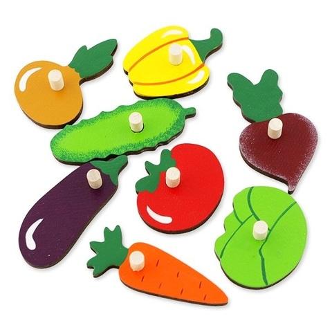 Вкладыши Фрукты-овощи, Крона, арт. 143-070