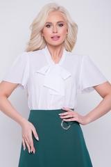 <p>Хит сезона! Ультра модная модель для уверенной в себе дамы. Рукав - крыло. Ворот - модный бант.</p>