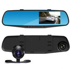 Зеркало видеорегистратор Vehicle Blackbox Full HD с двумя камерами