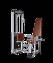 BRONZE GYM D-019 Отведение бедра сидя (ЧЕРНЫЙ)