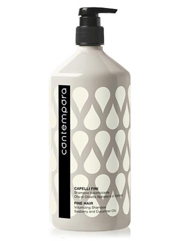 Шампунь для придания объема с маслом облепихи и огуречным маслом Contempora Barex