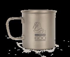 Титановая кружка Novaya Zemlya Ti Cup 0,6 л TM-600FH