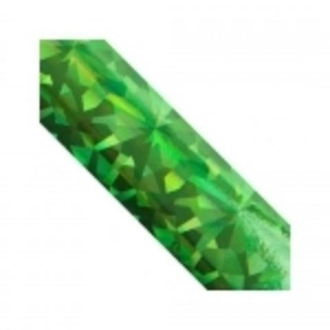 Дизайн - Битое стекло,Изумруд голография
