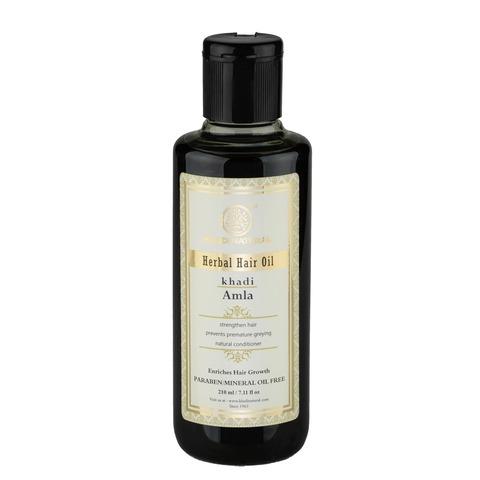 """""""Амла"""" масло для восстановления волос - без парабенов и минерального масла Khadi Natural, 210 мл"""