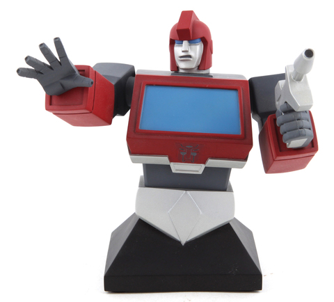The Transformers Hard Hero Series - Limited Edition Ironhide Bust