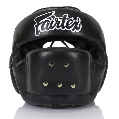 Шлем Fairtex Headguard Full Face Protector HG14 Black