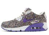 Кроссовки женские Nike Air Max 90 Dark Violet Flower