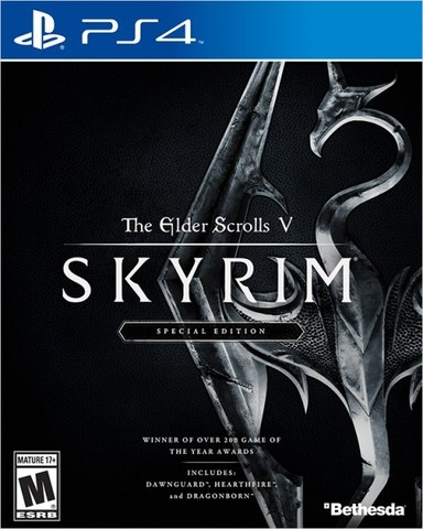 PS4 The Elder Scrolls V: Skyrim. Special Edition (русская версия)