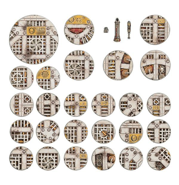 Sector Mechanicus Industrial Bases. Все базы