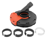 Защитный кожух MESSER для УШМ для шлифовки (тип А5). Диаметр шлифовальной чашки 125 мм.
