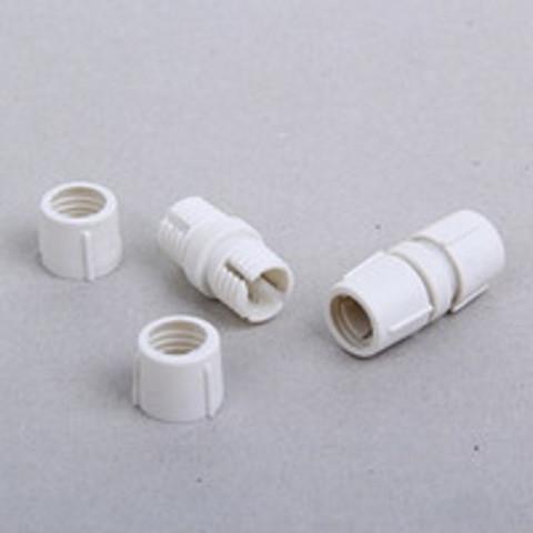 Коннектор для дюралайта 11 мм, 3W, прямой