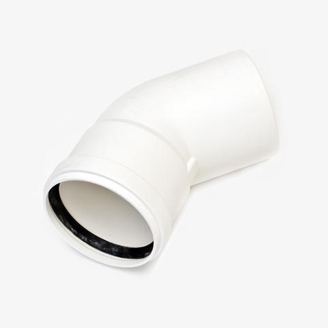 Отвод 45° Ду110 мм (для Ariston Genus Premium Evo HP 85-150 кВт)