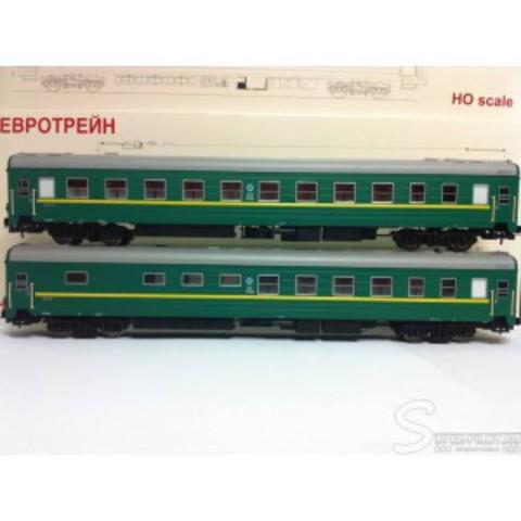 Eurotrain 0221 Набор пассажирских вагонов ЦМВ РЖД , НО