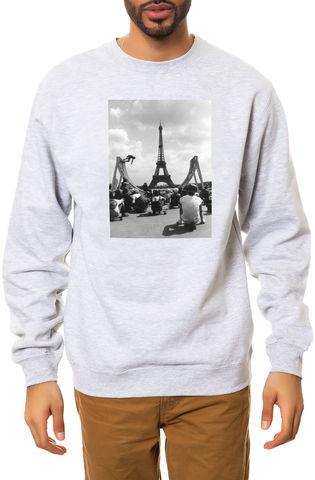 Свитшот Dope Paris серый фото