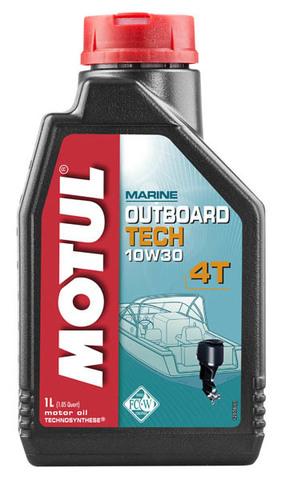 Motul Outboard TECH 4T 10W30 (1л)