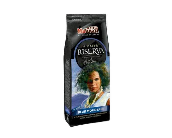 Кофе в зернах Molinari RISERVA BLUE MOUNTAIN, 250 г