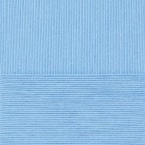 Купить Пряжа Пехорка Детский каприз Код цвета 005-Голубой | Интернет-магазин пряжи «Пряха»
