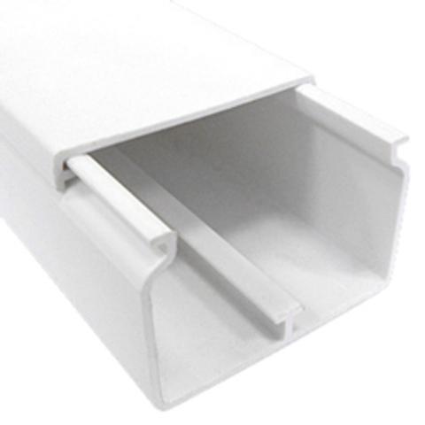INSTA 60х40 Короб с крышкой (Крышка=60мм), 1шт=2м. Цвет Белый. Ecoplast (ЭКОПЛАСТ). 76005-2