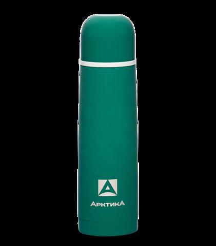 Термос Арктика (103-500 зеленый) 0,5 литра с узким горлом классический, с резиновым