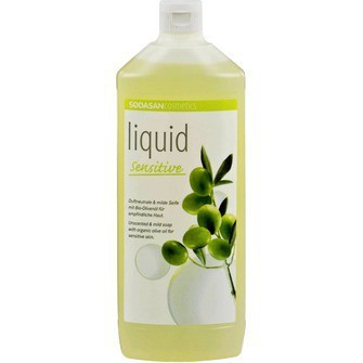 Жидкое мыло, Sodasan, для чувствительной кожи, 1000мл
