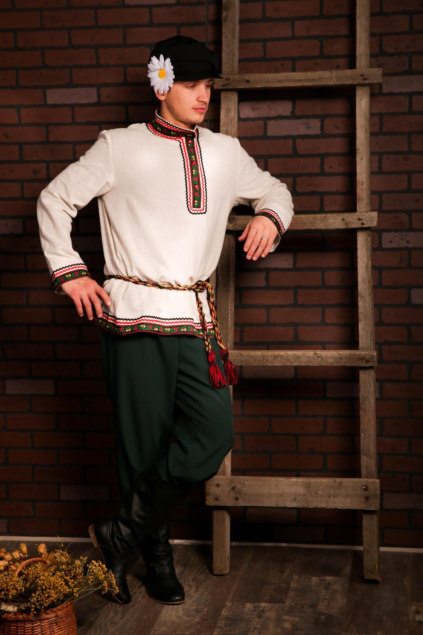 Русский мужской костюм Богатырь