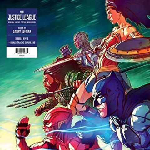 Комплект из 2-х виниловых пластинок.  Justice League: Original Motion Picture Soundtrack [2 LP]