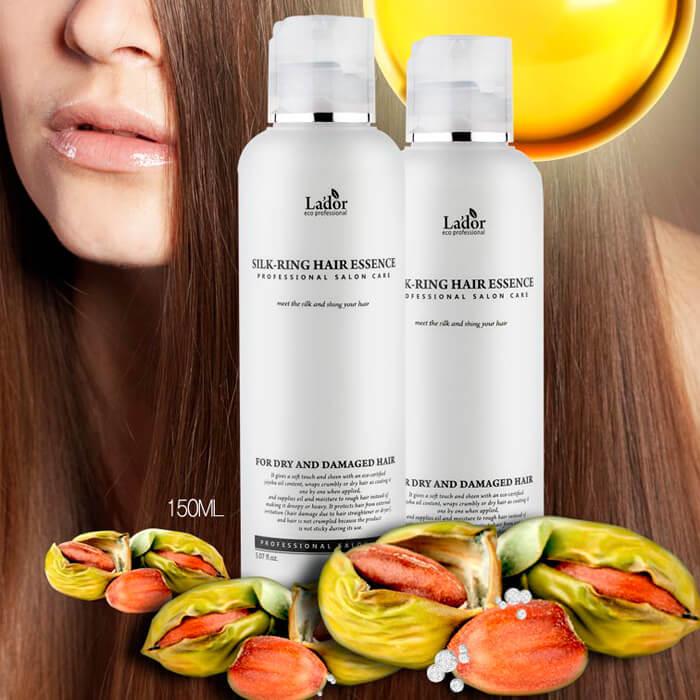 Шелковая эссенция для поврежденных волос LADOR eco silk ring hair essence 160 мл