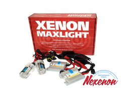 Комплект би ксенона Maxlight H4 (AC) 6000K