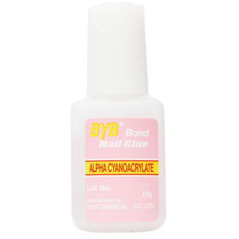 Клей для ногтей BYB Bond Nail Glue 10 мл c кисточкой