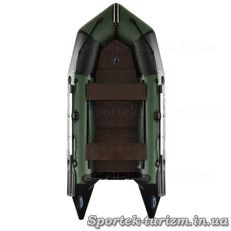 Надувна тримісна моторна гумовий човен Aquastar С-330
