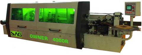 Автоматический кромкооблицовочный станок SAG OWNER 4000R