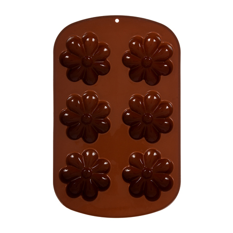 Форма из силикона «Ромашки» 26,5х17 см