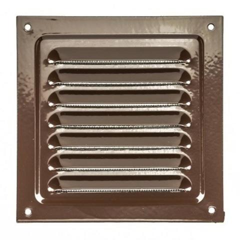 2525МЭ, Решетка металлическая, коричневая