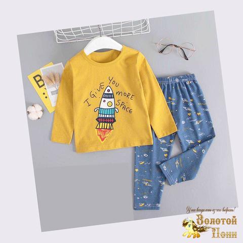 Пижама хлопок мальчику (6-9) 200926-П1511.1