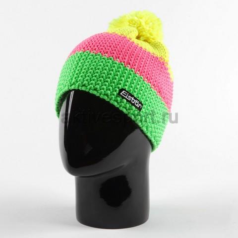 Картинка шапка Eisbar star neon pompon 959