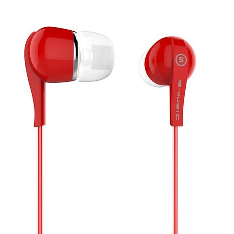 Наушники вакуумные S-Music Start CX-120 red
