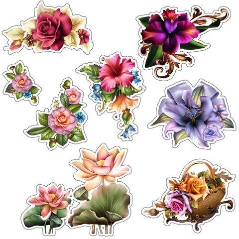 Печать на сахарной бумаге, Набор Цветы 14