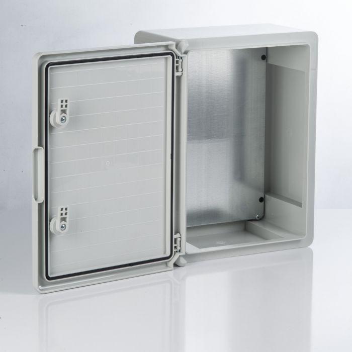 Бокс пластиковый ЩМП-0-10, ABS, IP65, -45 до +75 С, навесной, (500x400x240) TDM