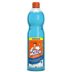 Средство для стекол и зеркал Mr.Muscle Эконом 500 мл (с нашатырным спиртом, запасной флакон)